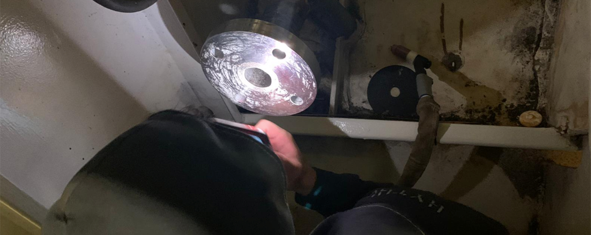 Sea tube inspection from hythe marine services