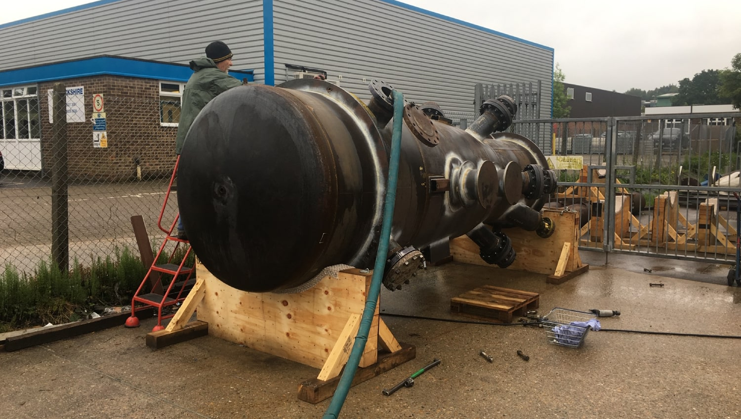 fccu riser hythe marine services pipework fabrication for petrochemical industry petrochem